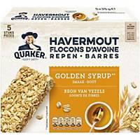 Barres aux flocons d'avoine Quaker Golden Syrup, 24 sachets par boîte