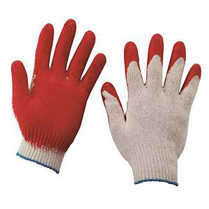 PK100 CHUNIL SEMI-COATING GLOVES RED