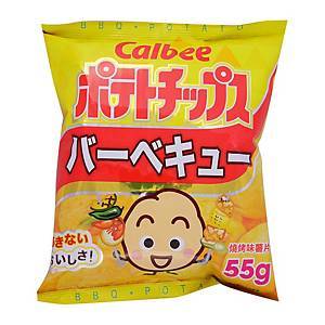 Calbee 卡樂B 燒烤味薯片55克