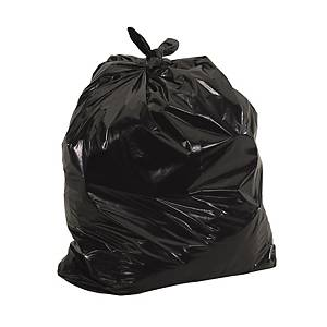 Biodegradable Garbage Bag 32 x 40 inch Black - Pack of 100
