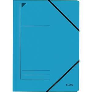 Eckspanner Leitz 3980, A4, aus Karton, Fassungsvermögen: 250 Blatt, blau