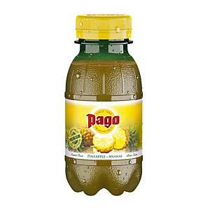 Succo di frutta ananas Pago bottiglietta 20 cl - conf. 12