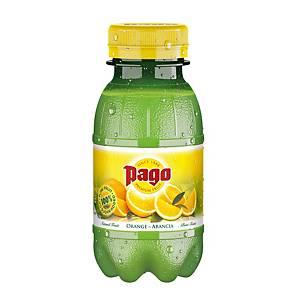 Succo di frutta arancia Pago bottiglietta 20 cl - conf. 12