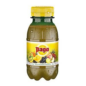 Succo di frutta tropicale Pago bottiglietta 20 cl - conf. 12