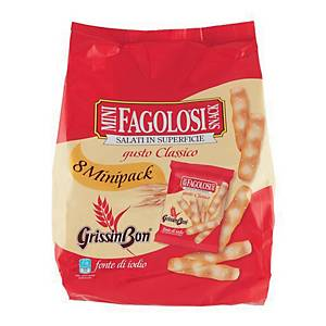 Grissini salati Mini Fagolosi GrissinBon in pacchetto da 20 g - conf. 11