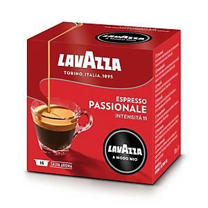 Caffè espresso Passionale Lavazza a Modo Mio in capsule - conf.16