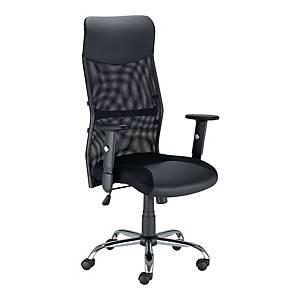 Krzesło NOWY STYL Flow, czarne