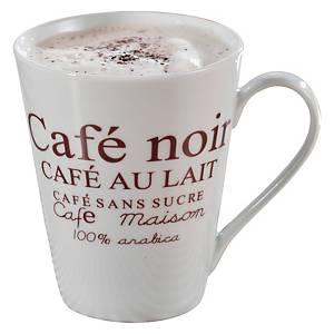 Kaffeebecher Porzellan 302-007, 250ml, 6 Stück