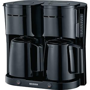 Kaffeemaschine Severin KA 5828 Duo, 16 Tassen, schwarz