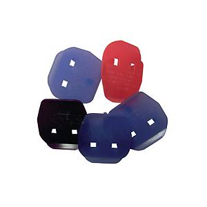 ASSORTED COLOUR PLUG KEYS - PACK OF 5