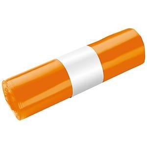 Energiasäkki 30L oranssi, 1 kpl=25 säkkiä