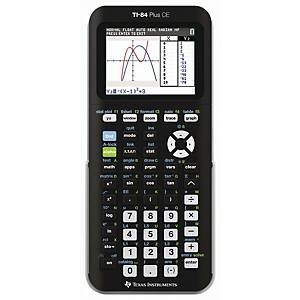 Texas Instruments TI 84+ CE wetenschappelijke rekenmachine, 16 karakters