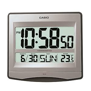 CASIO Wall Clock with Temperature