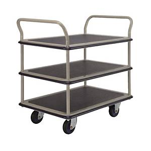 PRESTAR NF-305 Triple Deck Dual Handle Trolley