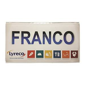 Plastic Name Plate Holder For Partition