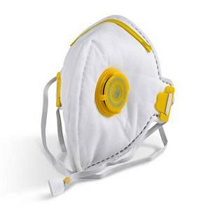 Peel Ports Ffp3 Mask Valved Wh