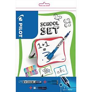 Pilot School Set - tableau blanc et marqueurs