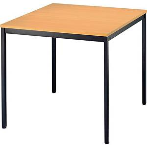 Konferenztisch VVS08/6, Größe: 80 x 80 cm (L x B), buche Desktopservice