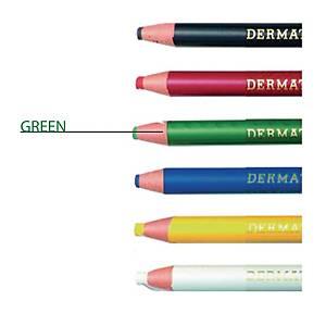 Ringo Dermatograph Green Colour Pencil 1.0mm Line Width