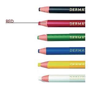 Ringo Dermatograph Red Colour Pencil 1.0mm Line Width