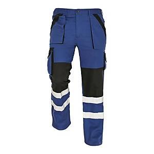 Spodnie CERVA MAX REFLEX, niebiesko-czarne, rozmiar 52