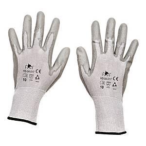 Rękawice antyprzecięciowe F&F HS-04-017, szare, rozmiar 9, para
