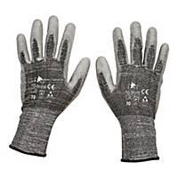 Rękawice antyprzecięciowe F&F HS-04-018, szare, rozmiar 10, para