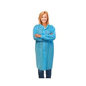 Bata industria desechable 35g - PP - azul - talla XL