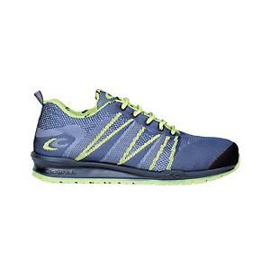 Zapatos de seguridad Cofra Fluent S1P - azul - talla 38