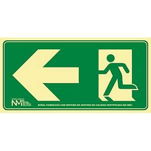 NORMALUZ RD11131  EXIT SIGNAL LEFT PVC