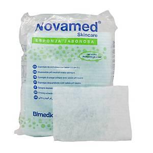 Pack de 24 esponjas con jabón Bimedica hipoalergénicas