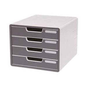 SYSMAX 13106 DELUXE COLOR DRAWER GREY