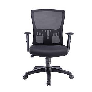 Artrich Hugo 2 Mesh Medium Back Chair Black