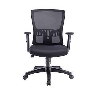 Artrich Hugo 2 Mesh Medium Back Chair Black