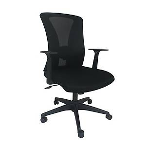 Artrich 822 Medium Back Mesh Chair Black