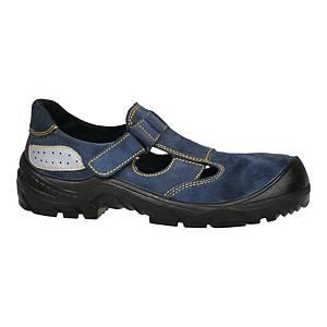 Sandały TECHWORK 1104/1 S1 SRC, niebieskie, rozmiar 37