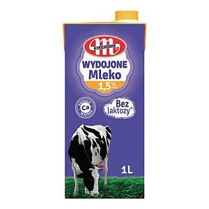 Mleko WYDOJONE UHT, bez laktozy 1,5%, 1 l