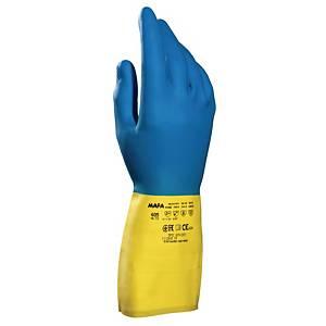 Gants chimiques Mapa Alto 405, taille 9, le paquet de 10 paires