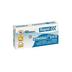 Utántöltő kapcsok Rapid Strong 24/6, box 1000 db