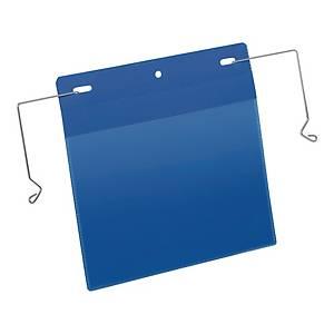Kieszenie magazynowe DURABLE z uchwytami z drutu A5 pozioma, w opk. 50 sztuk*