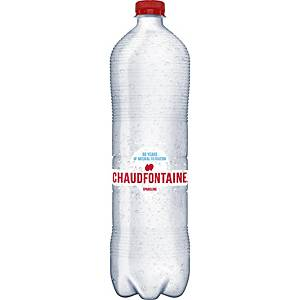 Chaudfontaine bruisend water, pak van 6 flessen van 1,5 l