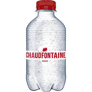 Chaudfontaine sparkling water bottle of 33cl - pack of 24