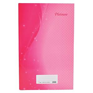 Assorted Colour F4 Notebook 200 Pages