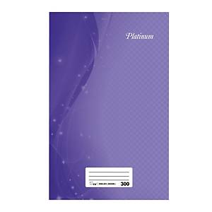 Assorted Colour F4 Notebook 300 Pages