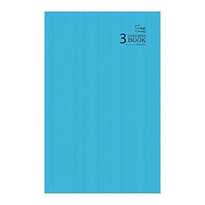 Campap 3 Columns Assorted Colour F4 Notebook 208 Pages