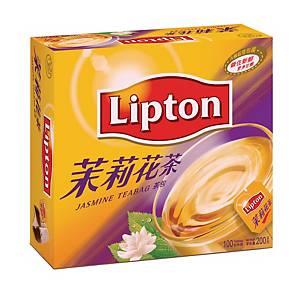 Lipton 立頓 茉莉花茶 茶包 - 100包裝