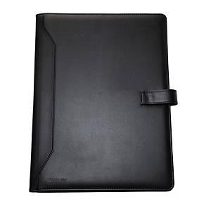 Monolith 2900 Conf Folder Leather A4 Blk