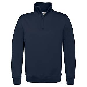 IMBRETEX BCID4 WORK SWEAT SHIRT N/BLU L