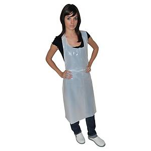 PK100 MEDICOM DISPOSABLE PP APRON WHT