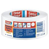 tesaflex® 04169 Markierungsklebeband, 50 mm x 33 m, weiß